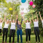 evjf - bride - team bride - future mariee - temoin - photographe eure et loir - ballons - evjf chartres