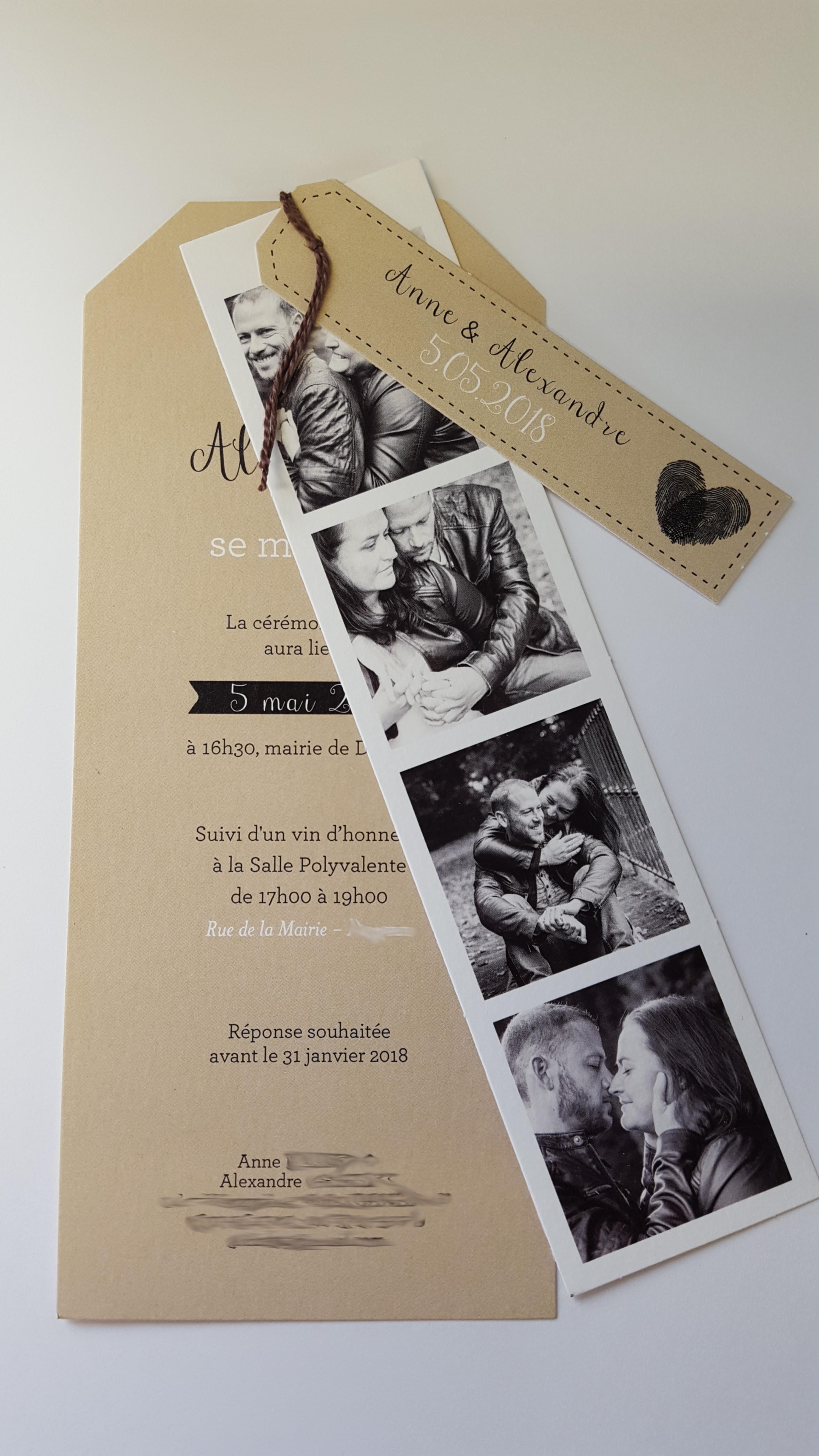 Séance engagement-faire part-mariage-photomaton-photos de couple
