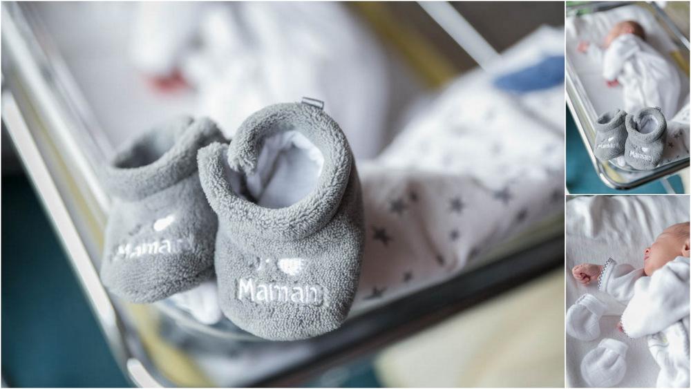 Séance photo à la maternité - bébé - nouveau-né - maternité - séance photo