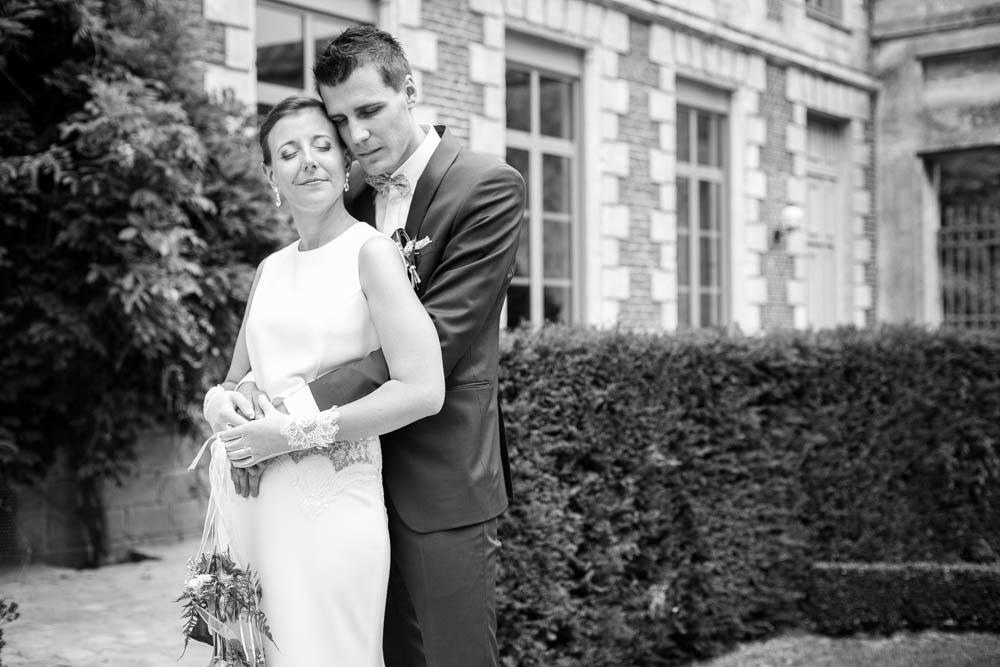 Mariage au chateau de rebreuve ranchicourt-nord pas de calais-Nord-photos de couple