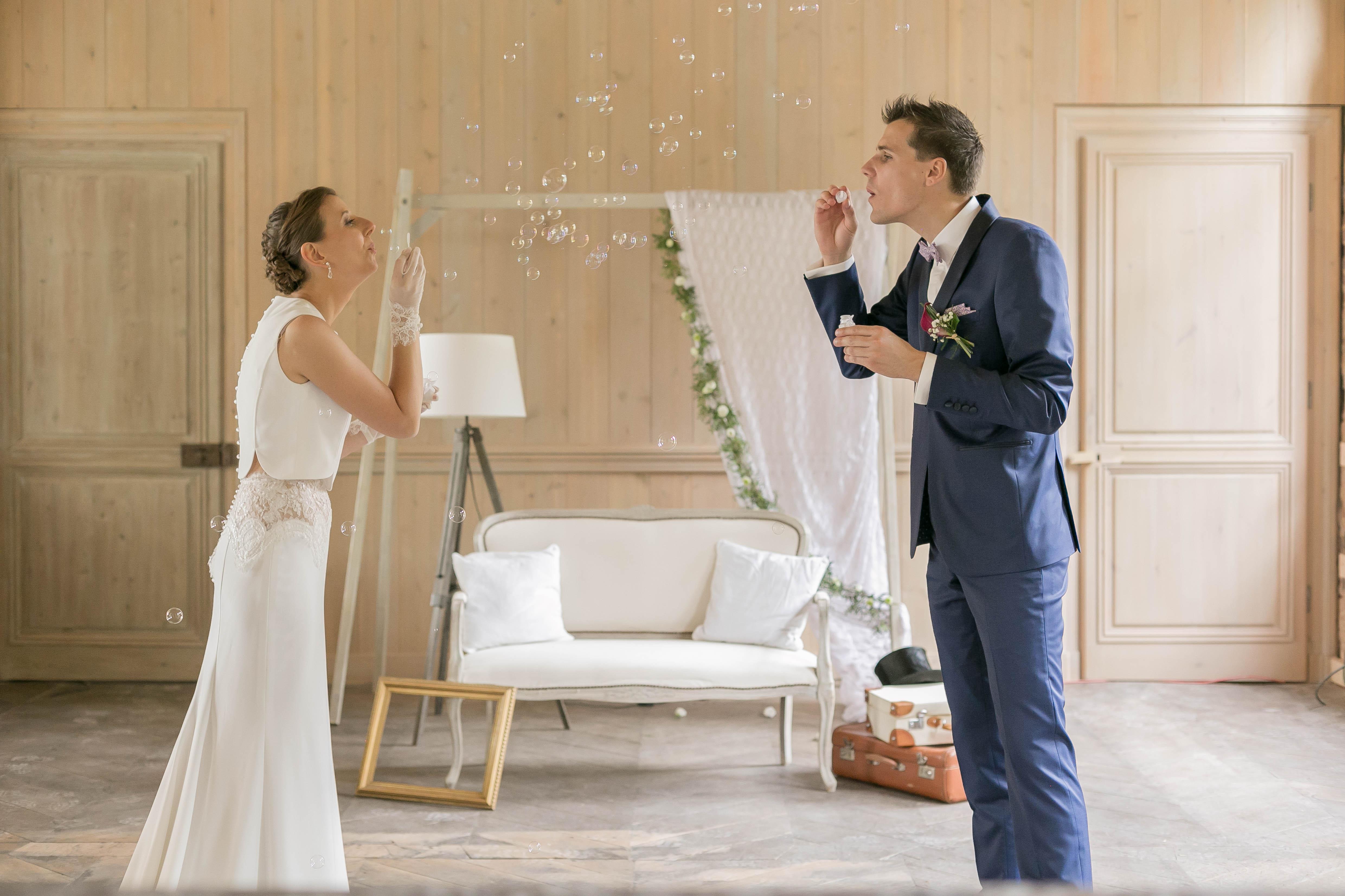 Mariage au chateau de rebreuve ranchicourt-nord pas de calais-Nord-décoratrice mariage-reveries et bois