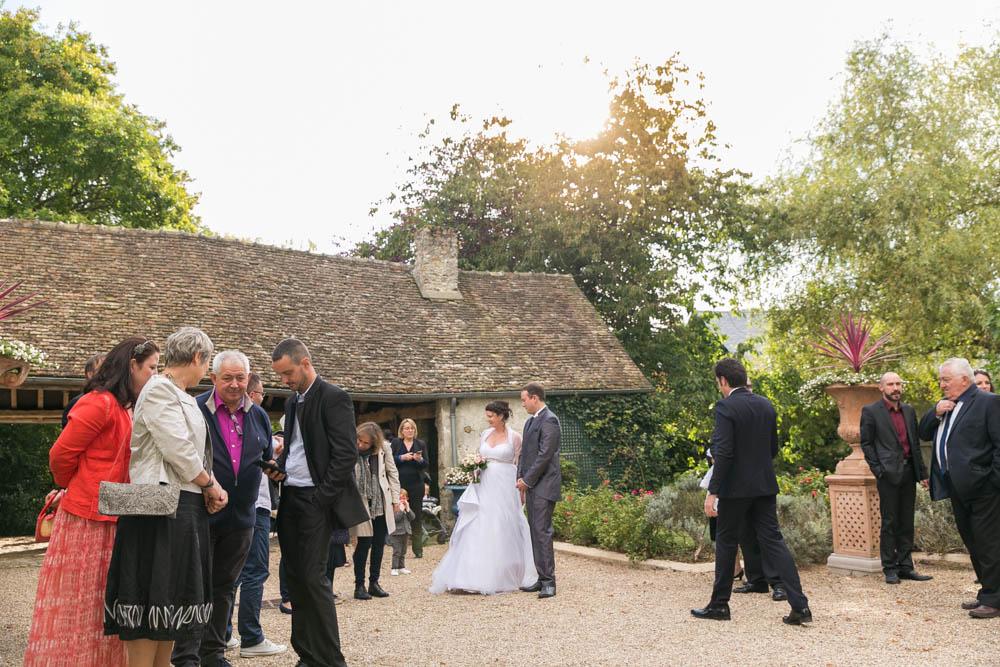mariage au Domaine des Clos Vallées - enceinte - Yvelines - magicien - colombes - cocktail - vin d'honneur