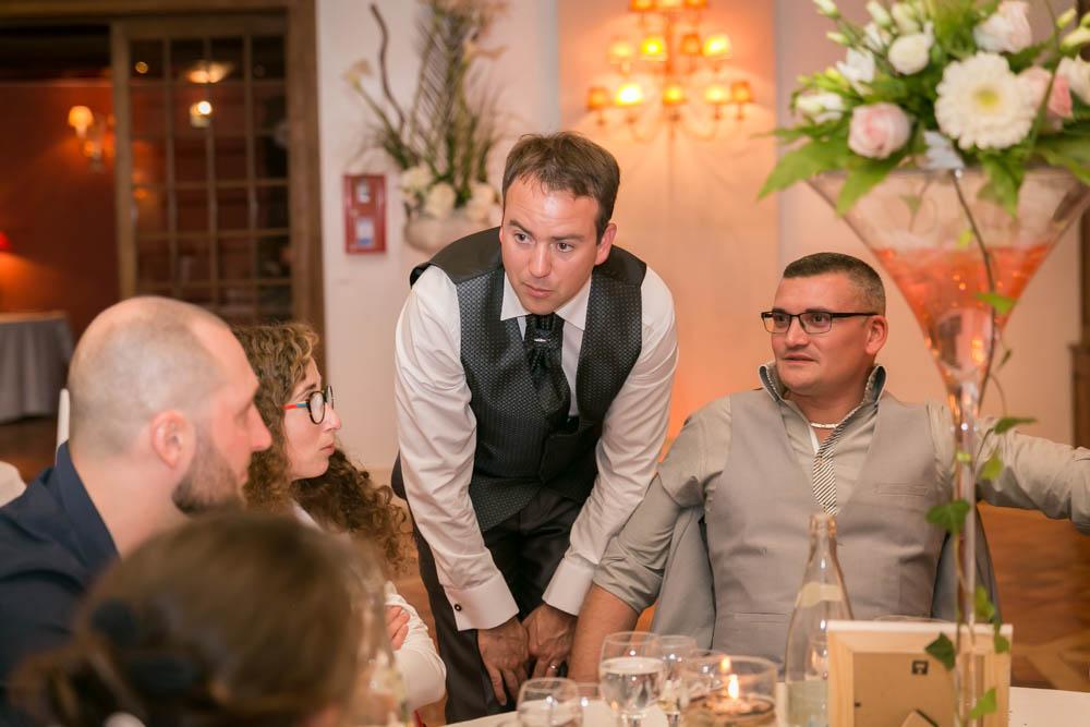 mariage au Domaine des Clos Vallées - enceinte - Yvelines - magicien - colombes - cocktail - vin d'honneur - décoration de salle
