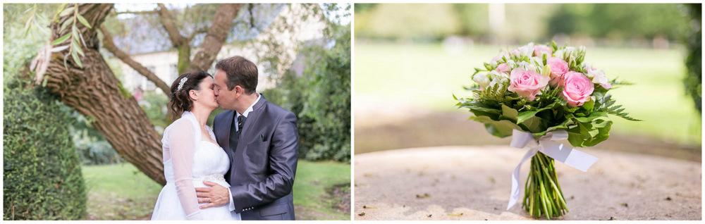 mariage au Domaine des Clos Vallées - enceinte - Yvelines - magicien - colombes - cocktail - vin d'honneur - photos de couple - bouquet de la mariée