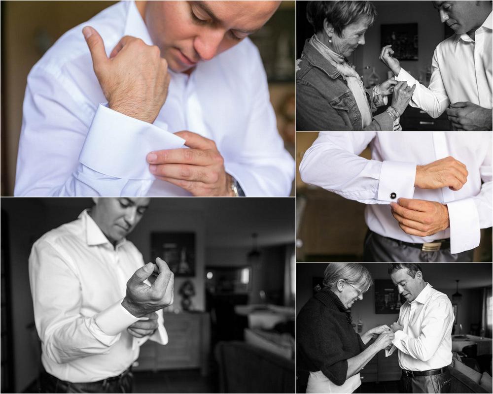 mariage au Domaine des Clos Vallées - enceinte - Yvelines - magicien - colombes - préparatifs des mariés