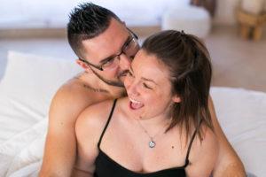 cocooning - galerie privee - séance couple - intimité