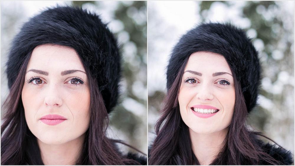 séance photo - mère fille - sous la neige - bataille boule de neige