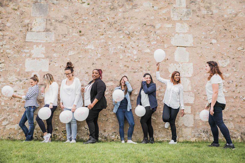 evjf - muraille - remparts chartres - team bride - Chartres - photographe evjf chartres - photographe mariage chartres