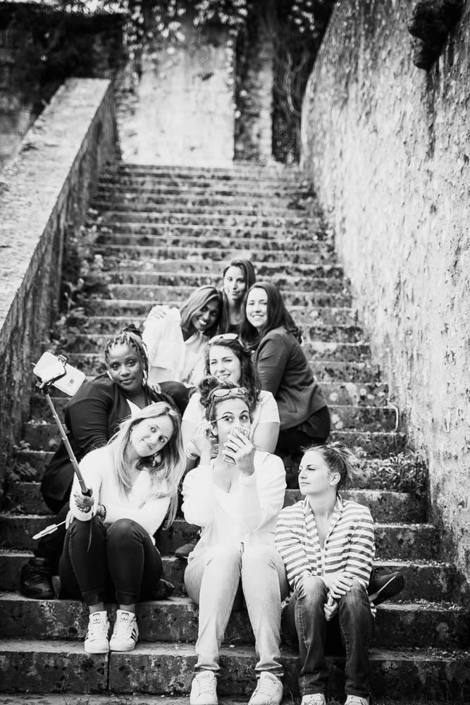 séance evjf - selfie - eure et loir - copines de la mariee