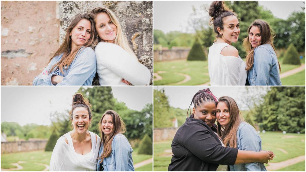 portraits de filles - future mariée - chartres - jardins de l'eveché à chartres