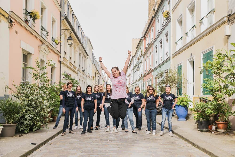 joie - délire - EVJF - Paris - bachelorettes