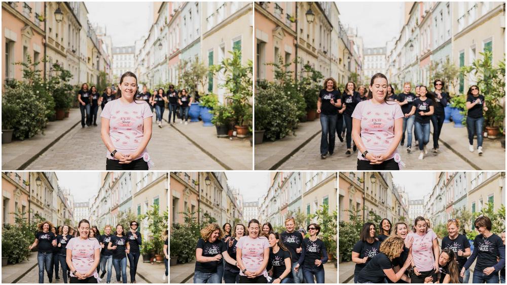 filles - girls - team bride - rue Crémieux - bride to be
