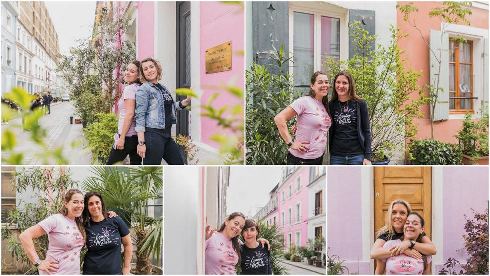 portraits - copines - filles - rue crémieux - EVJF