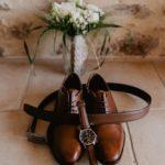 photographe mariage - preparatifs des maries - chartres - eure et loir - yvelines - eure - photo de details - chaussures du marié