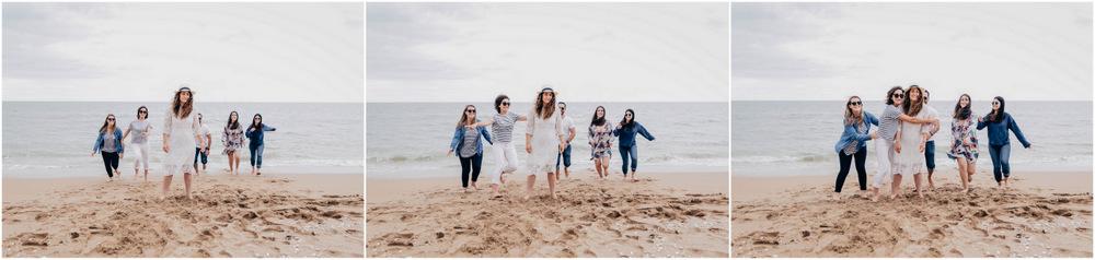 evjf deauville - photographe evjf deauville - evjf sur la plage de deauville - deauville
