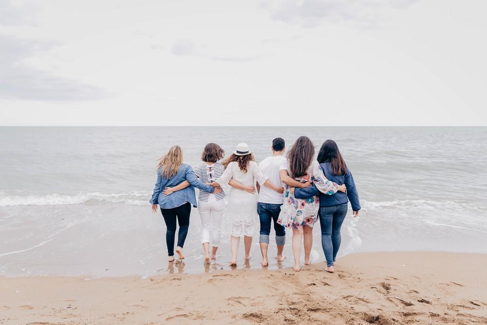 EVJF cabourg - enterrement de vie de jeune fille - normandie - plage