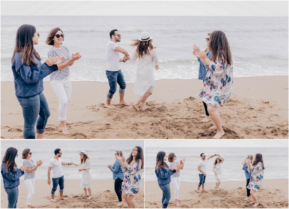 evjf sur la plage de deauville - evjf sur la plage de cabourg - seance photo cabourg - seance photo deauville - photographe mariage normandie