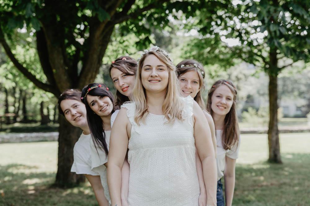 evjf evreux - photographe evjf - eure - campagne - champetre - mariage