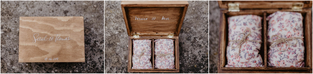 alliances des maries - mariage champetre - photographe mariage eure et loir - chartres - yvelines - paris