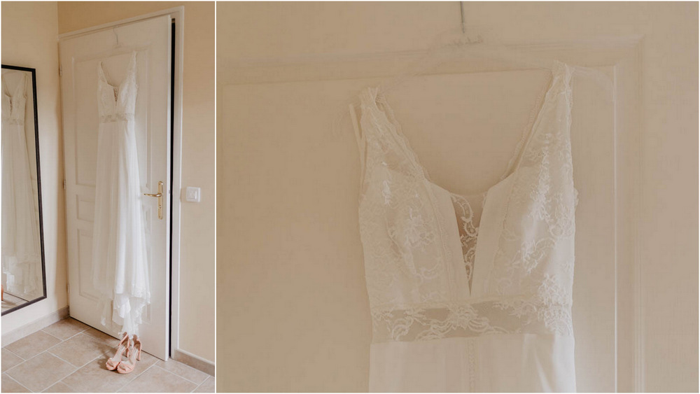 robe rembo styling - preparatifs maries - chaussures repetto - mariage boheme - champetre