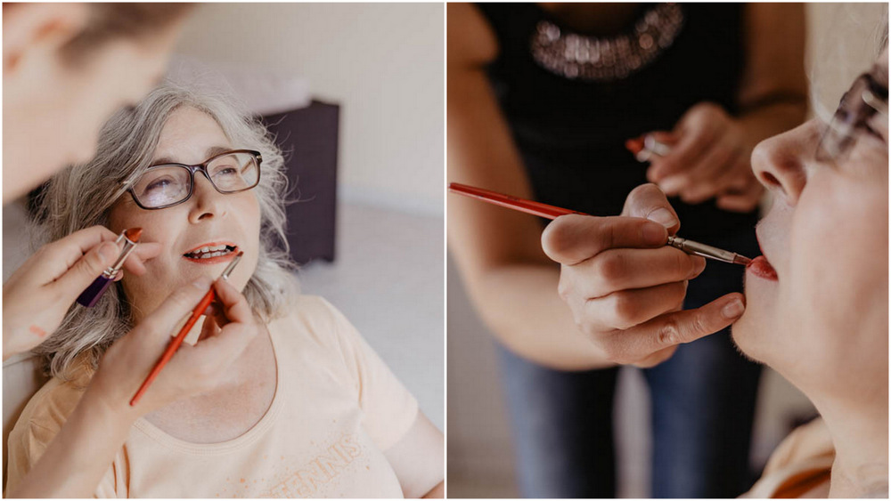 maquillage - mariage en eure et loir - preparatifs de la mariee - photographe