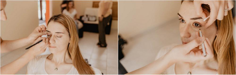 maquillage - temoins de la mariee - mariage champetre - chartres - ferme de fouville