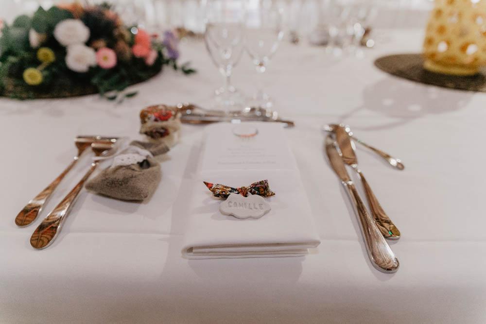 table des mariées - décoration - grange de renneville - lieu pour mariage eure - mariage boheme - photographe mariage evreux