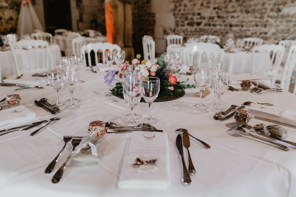 photographe mariage rouen - evreux - normandie - grange de renneville - mariage champetre fleuri