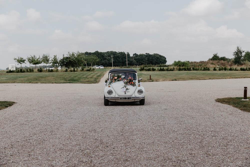 mariage champetre - grange de renneville - coccinelle beige - normandie - eure - evreux - rouen
