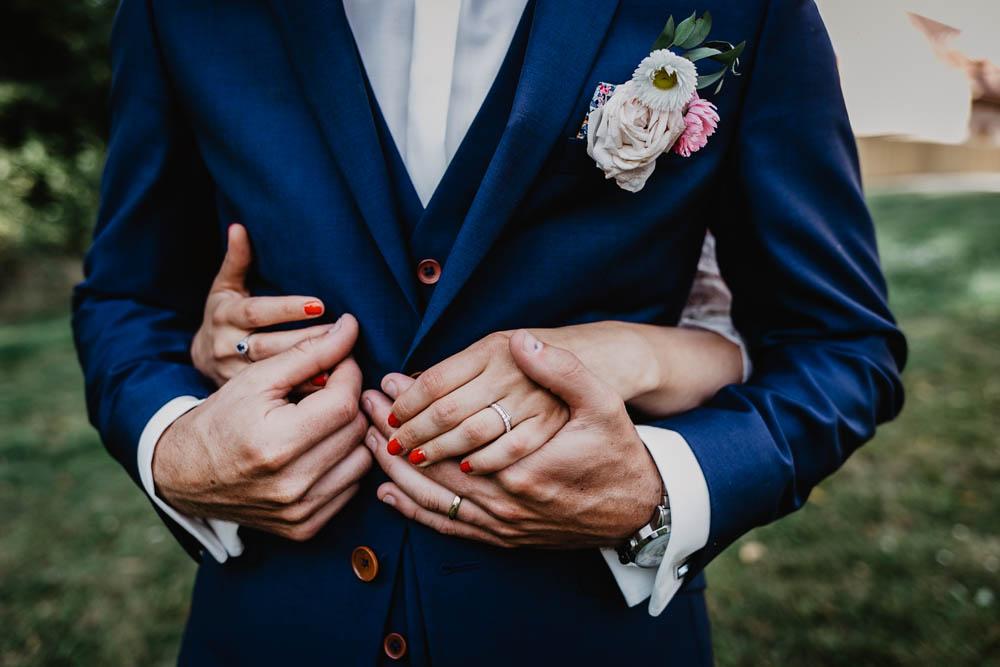photographe mariage eure et loir - mariage champetre - chic - photo de couple - alliances