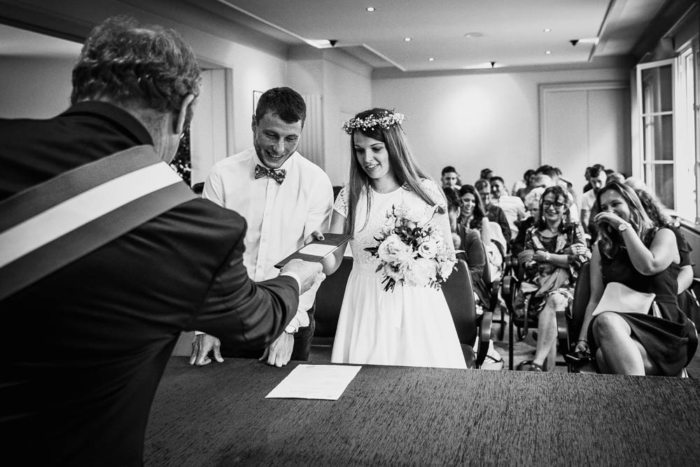 photographe mariage normandie - mariage champetre - calvados - mairie pont l'eveque