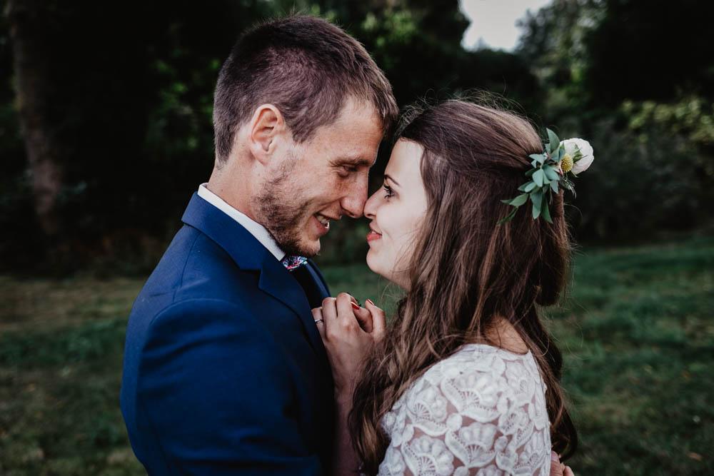 mariage champetre en normandie - calvados - eure - photographe mariage - evreux - rouen - boheme - chic