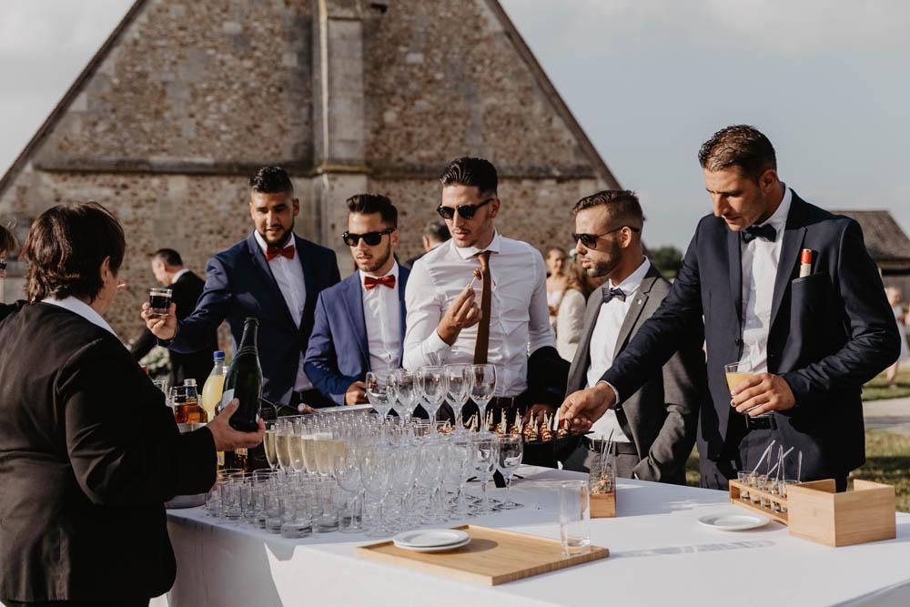 mariage à la grange de renneville - photographe mariage evreux - eure - coktail - mariage champetre en normandie