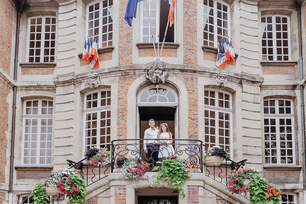 mairie de pont l'eveque - célébration mariage - photographe mariage normandie - calvados