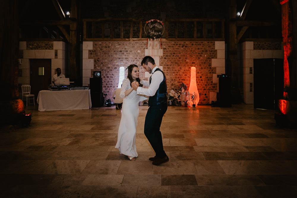 first danse - premiere danse - l ouverture de bal des mariés - photographe mariage eure