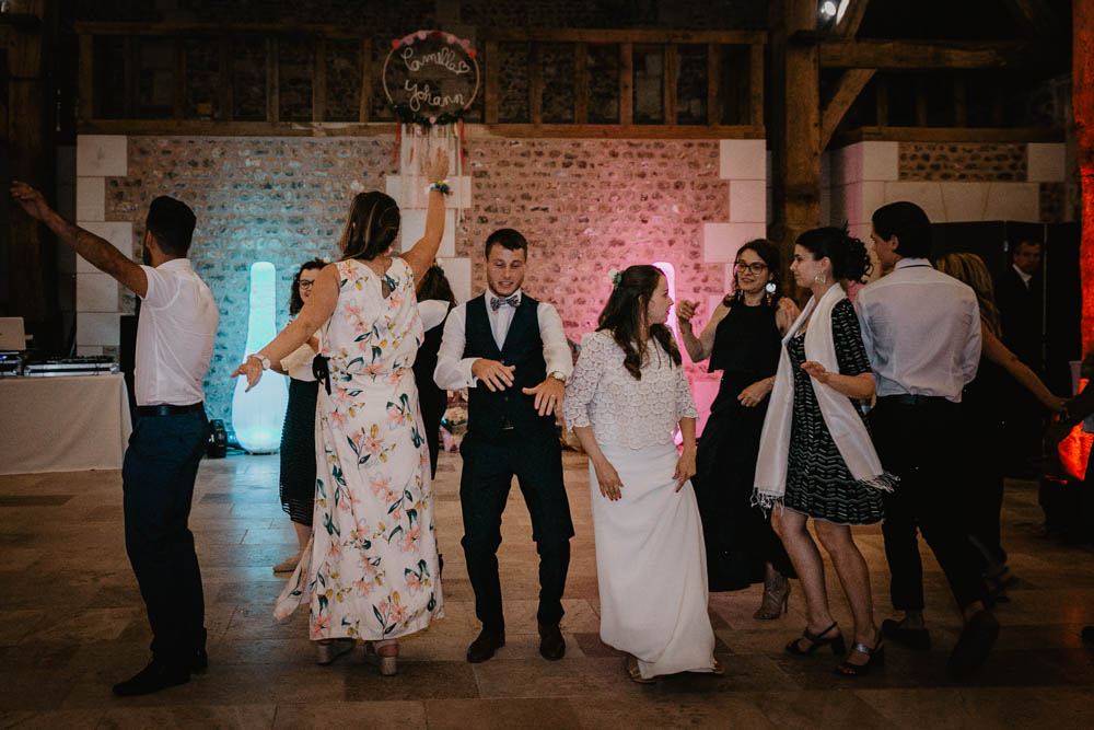 ouverture de bal - chorégraphie - témoins - photographe mariage eure et loir