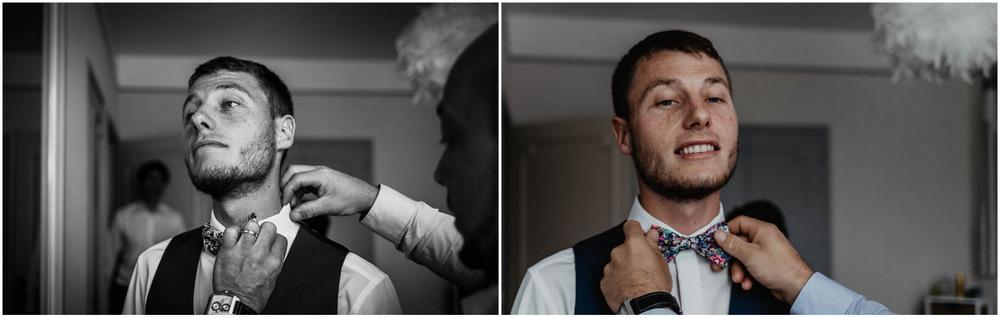 noeud pap colonel moutarde - mariage champetre - habillage du marié - normandie
