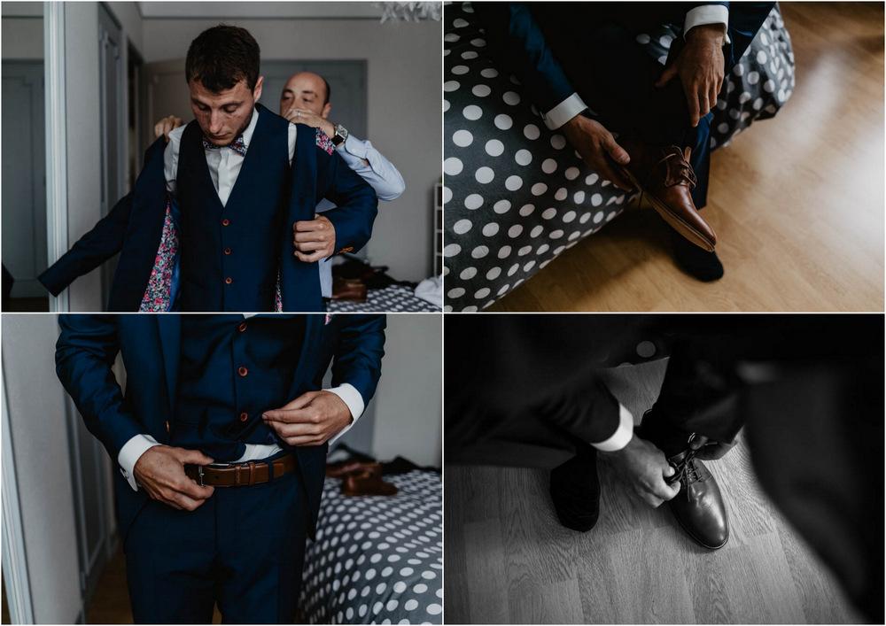 chaussures bobbies - mariage champetre chic - en normandie - préparatifs du marié