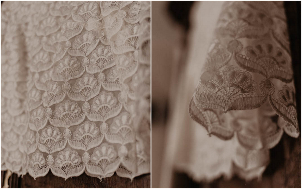 créatrice de robes de mariées à paris - laure de sagazan paris - mariage champetre en normandie - robe de mariée - préparatifs de la mariée