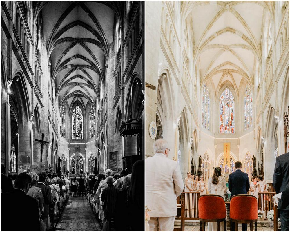 église saint michel pont l'eveque - mariage religieux - photographe mariage calvados - mariage champetre en normandie