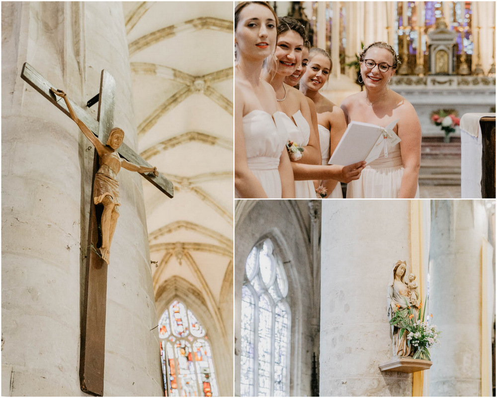 photographe mariage calvados - normandie - eure - mariage champetre chic - lisieux - basilique