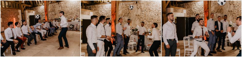 jeux et animations - mariage - foot - photographe mariage eure - evreux - allez les bleu