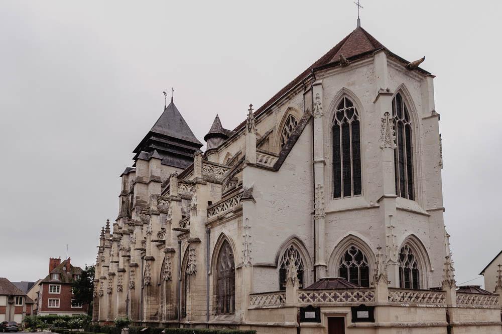eglise de pont l'eveque - calvados - mariage en normandie - photographe mariage eure