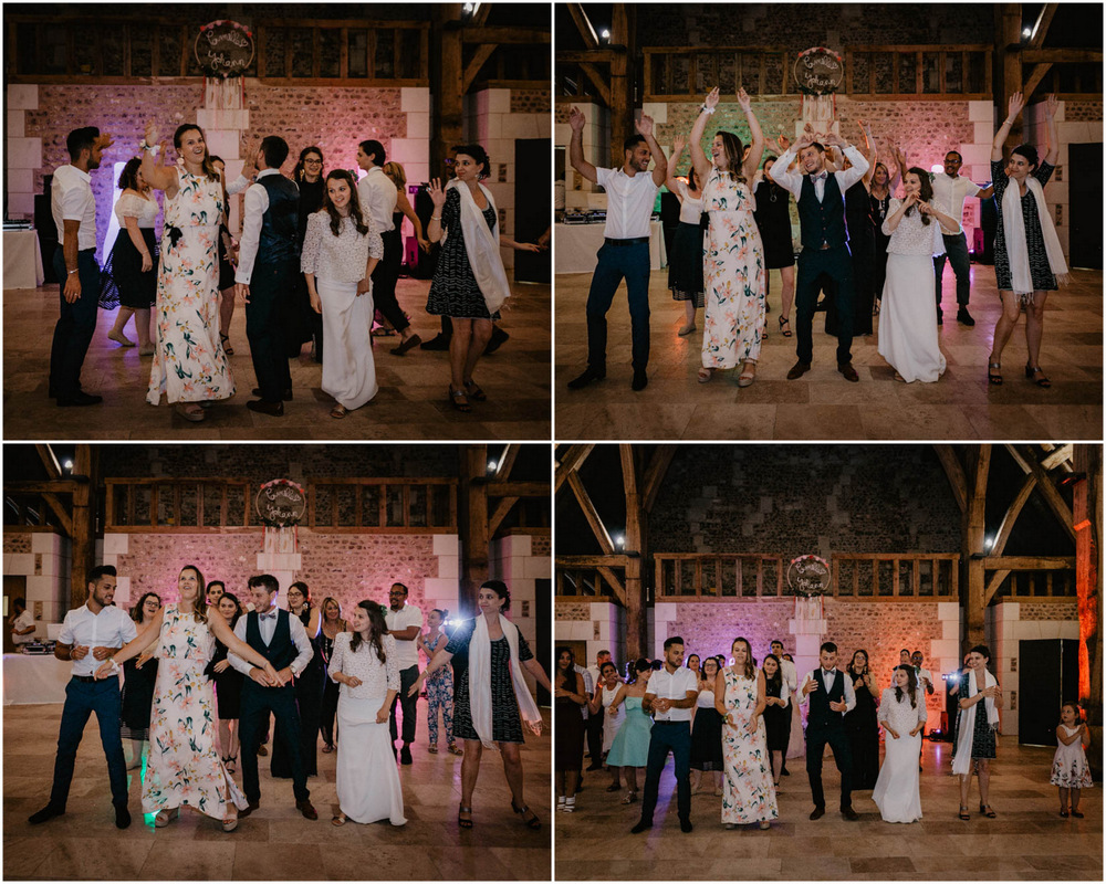 ouverture de bal - choré avec témoins - flash mob - mariage - photographe mariage normandie