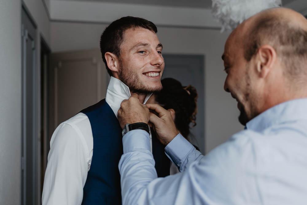 se marier en normandie - mariage champetre - preparatifs du marie - eure - calvados