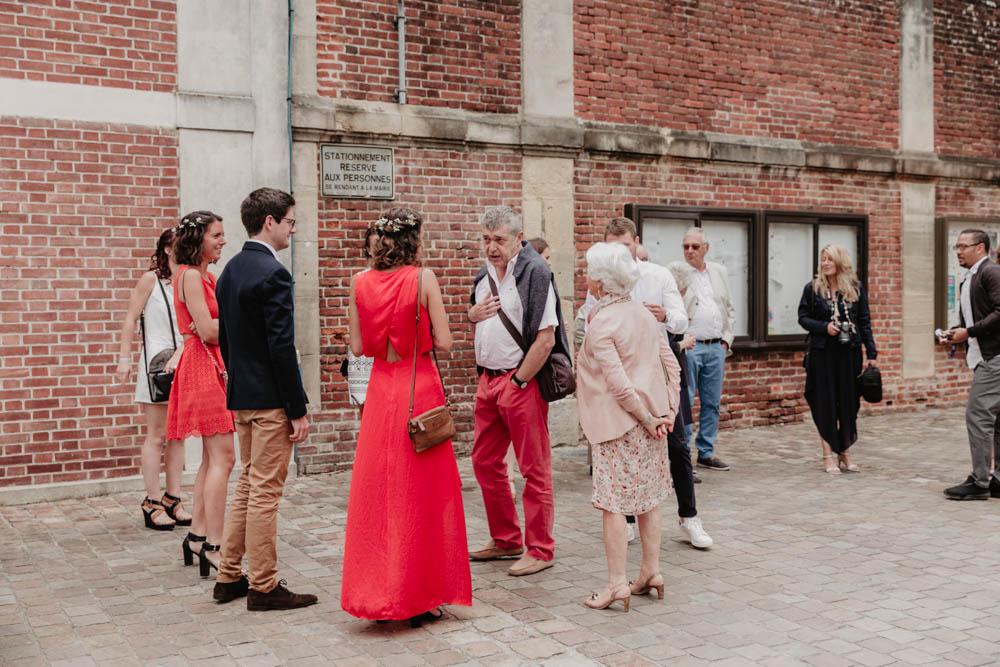 photographe mariage eure - mairie - cérémonie civile