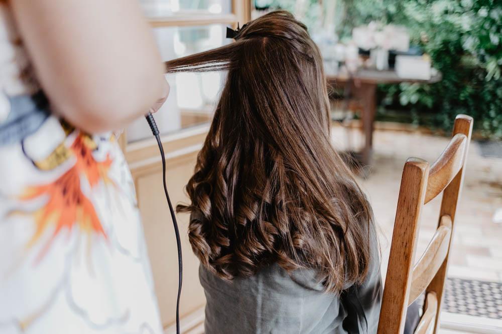 préparatifs de la mariée - mariage bohème - photographe mariage evreux
