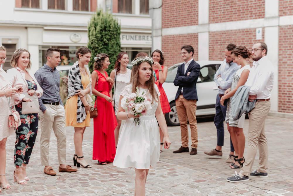 mariage dans le calvados - photographe de mariage eure - mairie de pont l eveque