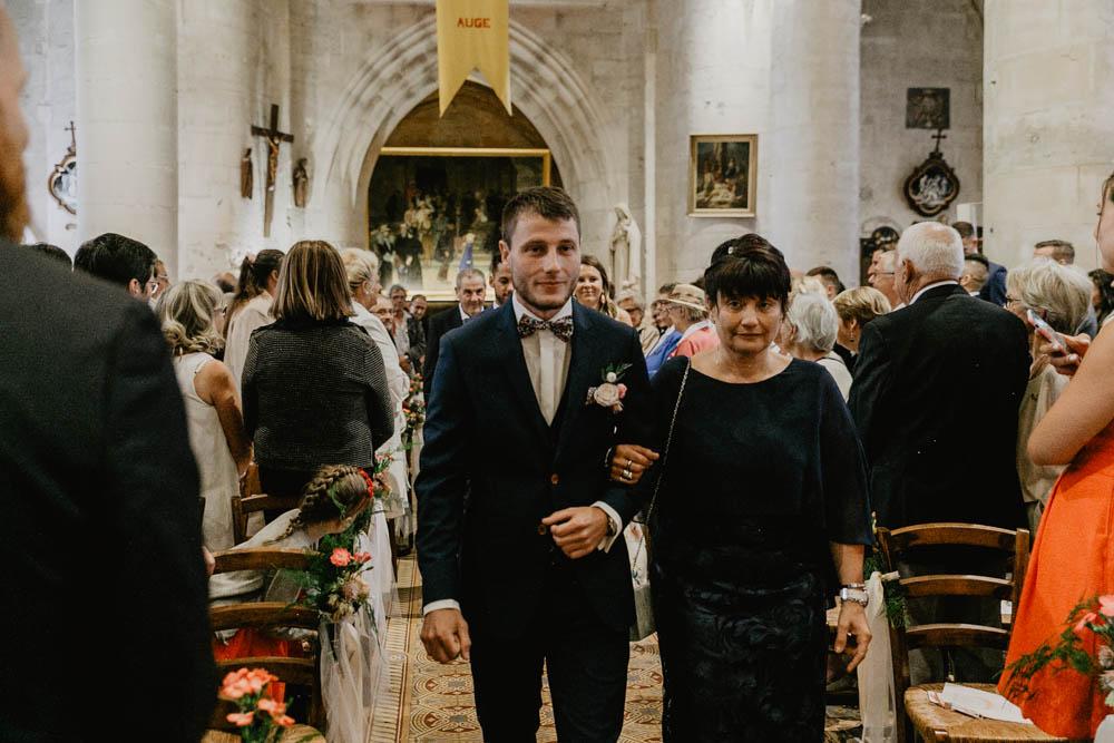 mariage à pont l'eveque - eglise - calvados - normandie