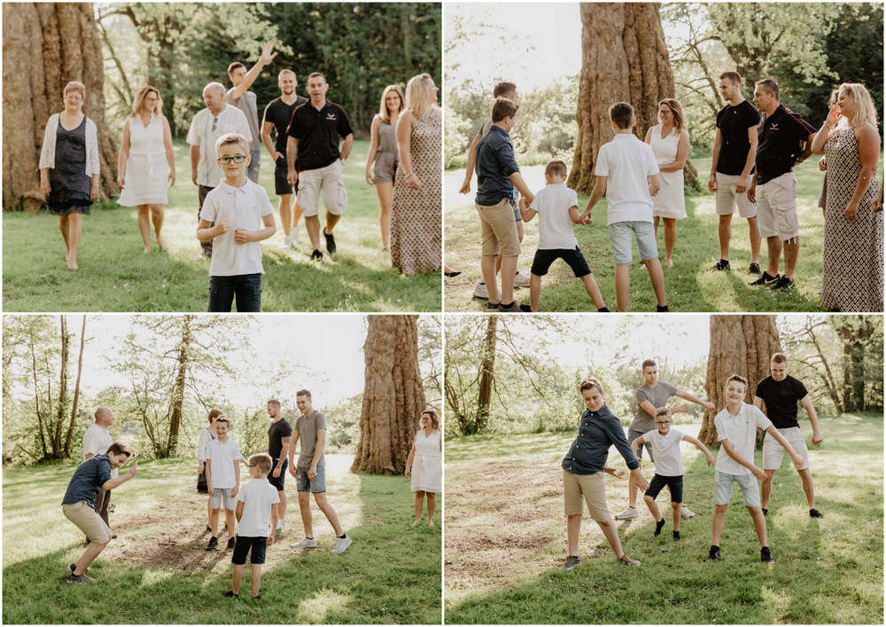 plusieurs familles - séance photo - photographe eure et loir - photographe de famille
